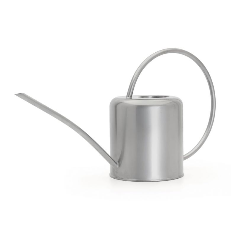 Indoor Watering Can Silver 1.4 litre