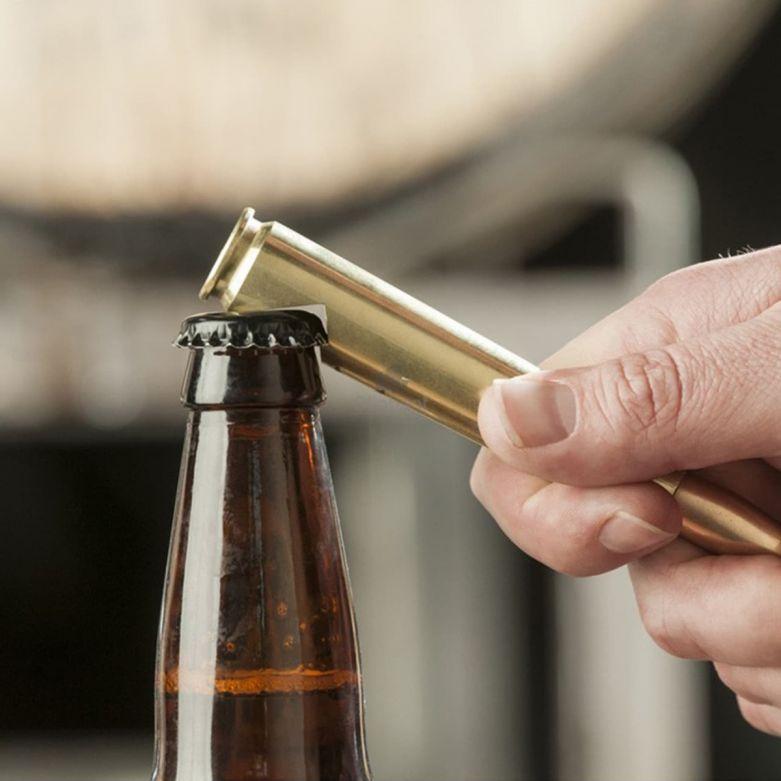 Bottle Opener Genuine .50 Cal Bullet Shell