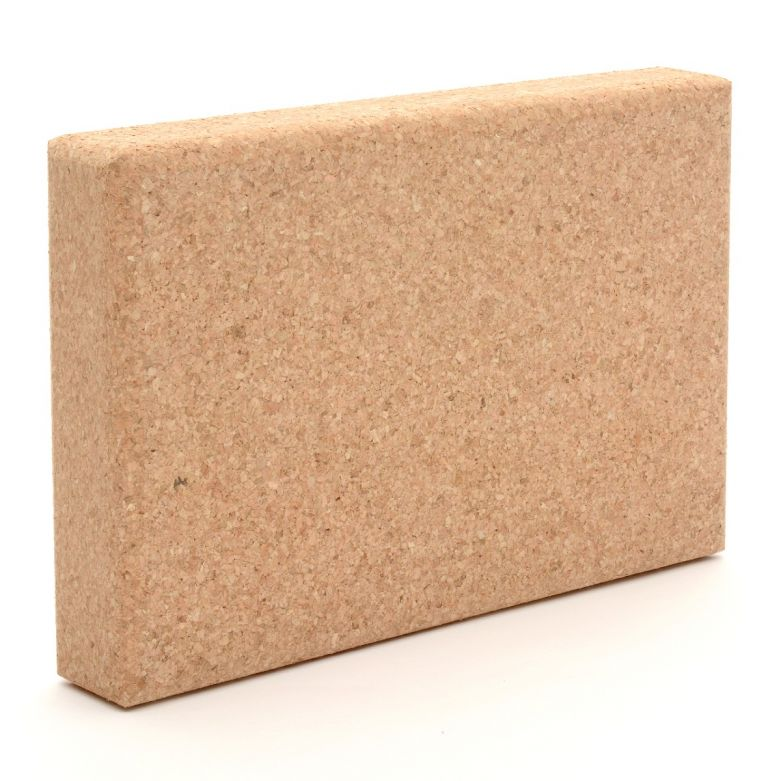 Zen Yoga Wedge Cork Block (Plank)