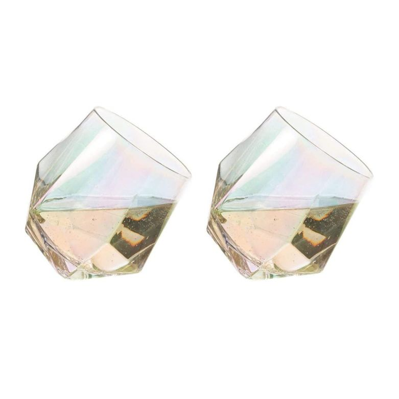 Diamond Glasses (450ml) (Set of 2)