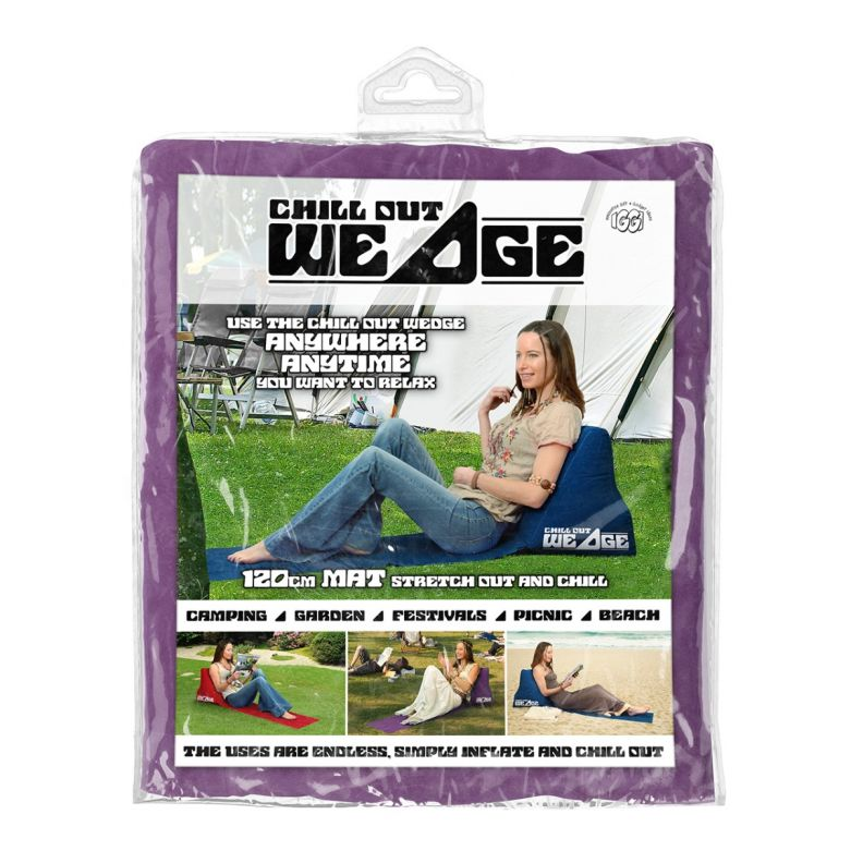 Chill out Wedge (Purple)
