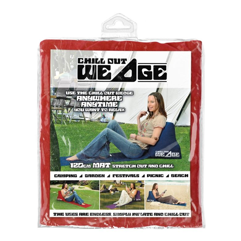 Chill out Wedge (Red)