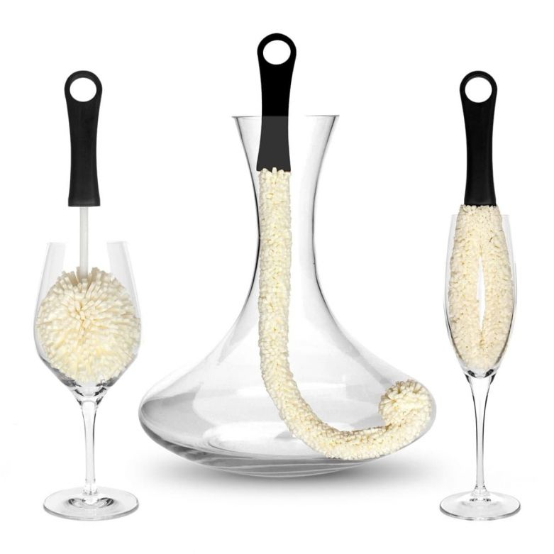 Bar Amigos Glassware Cleaning Brushes (Set of 3)