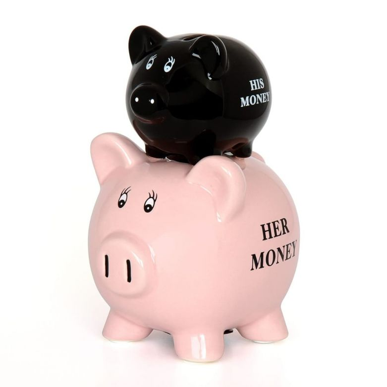 His & Her Piggy Bank