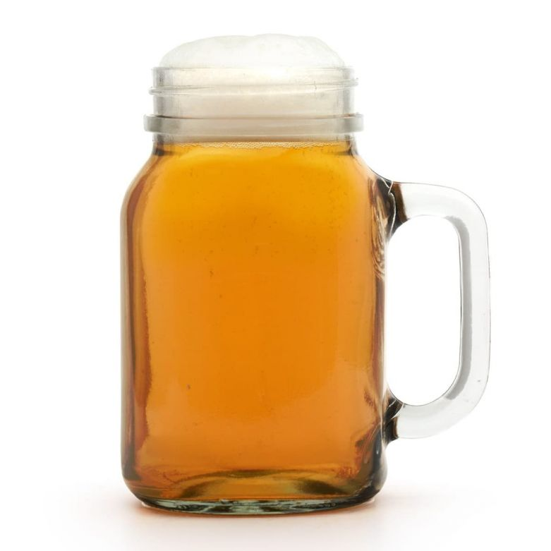 Mason Jar Mugs (620ml) (Set of 4)