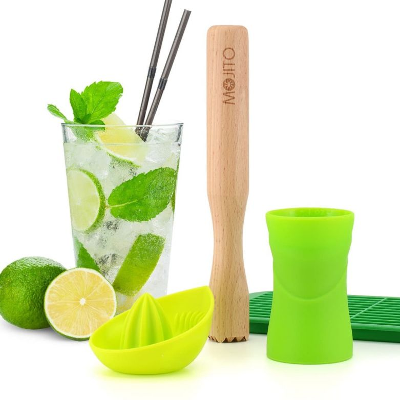Bar Amigos Mojito Cocktail Accessory Set