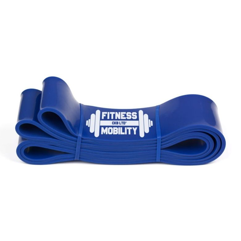 Fitness Resistance Band (Blue) (6.4cm/60-150lb)