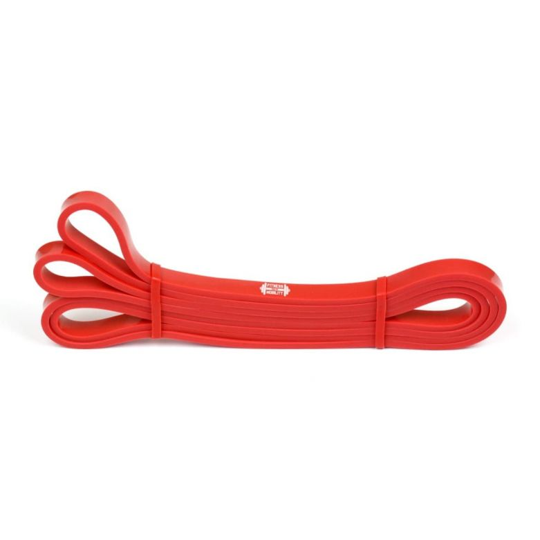 Fitness Resistance Band (Red) (1.3cm/12-30lb)