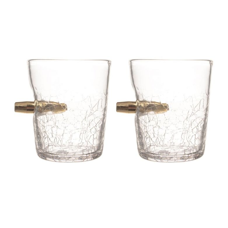 Bar Amigos Shot in the Glass 300ml Tumbler - Set of 2