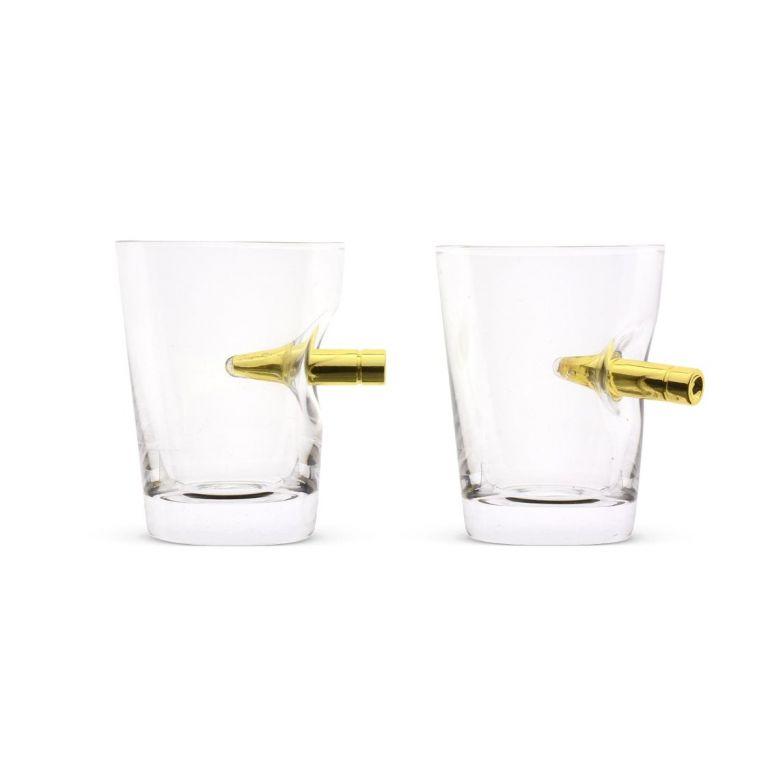 Take the Shot Crystal Shot Bullet Glasses (60ml) (2 Pack)