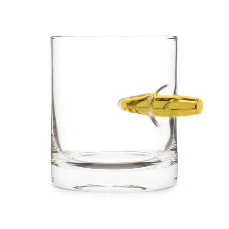 Take the Bullet Crystal Whisky Tumbler Bullet Glass (300ml)