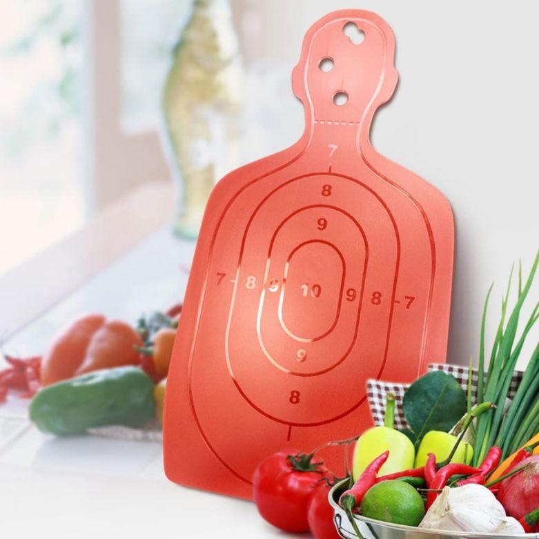 Target Shaped Chopping Board