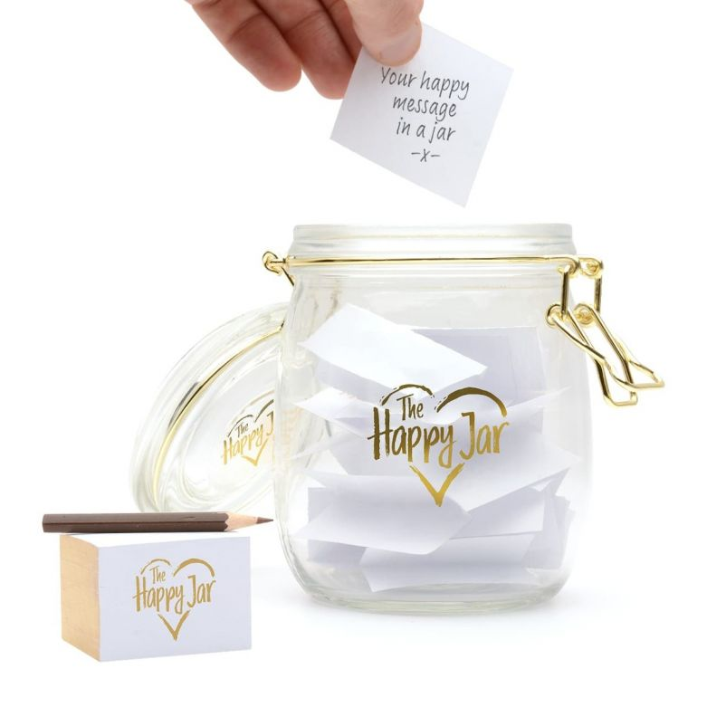 Happy Keepsake Memory Jar