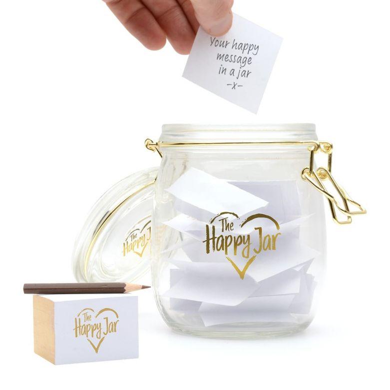 Happy Keepsake Memory Jar