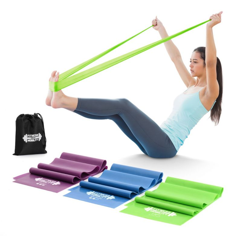 Set of 3 1.5metre Stretch Resistance Bands