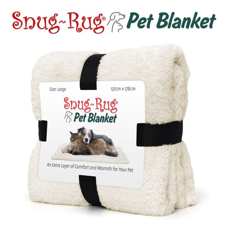 Snug-Rug Pet Blanket 127 x 178cm (Large) Cream