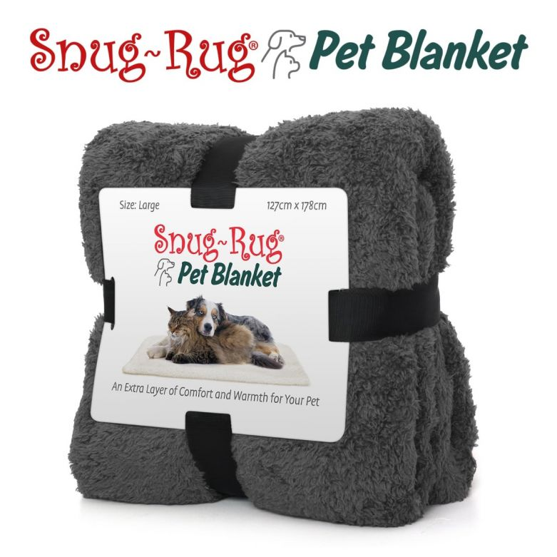Snug-Rug Pet Blanket 127 x 178cm (Large) Slate Grey
