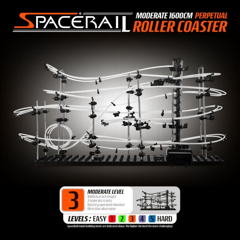 SpaceRail Roller Coaster Level 3