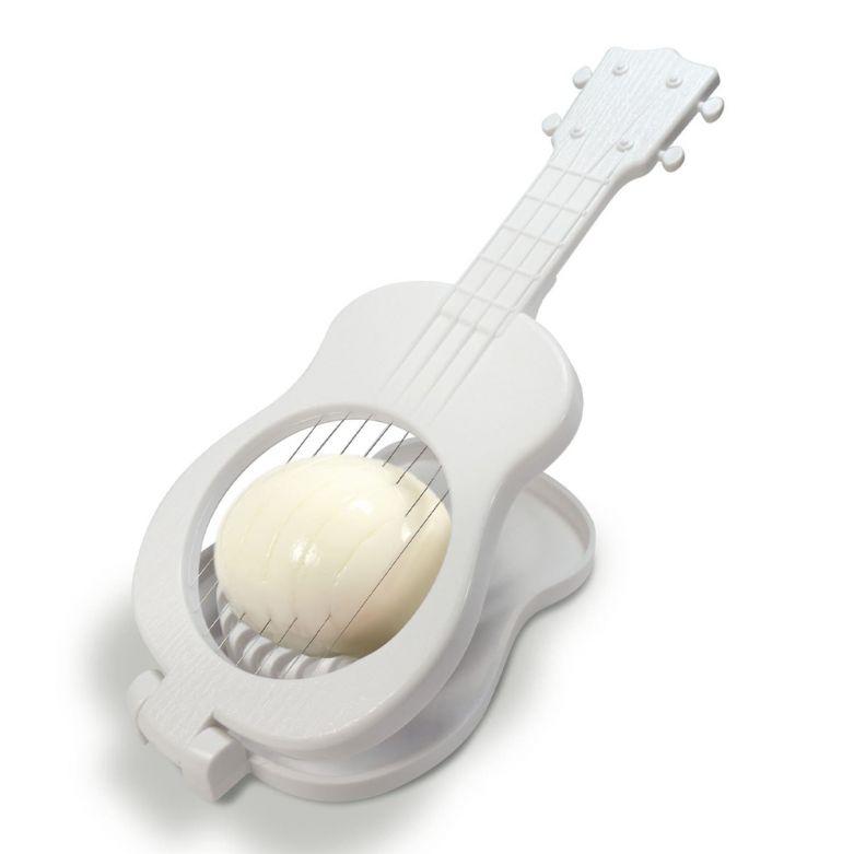 The Ukulele Egg Slicer (White)