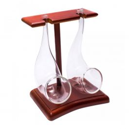 Brandy Pipes & Stand (75ml) (Set of 2)