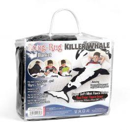 Snug-Rug Killer Whale Tail Blanket