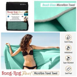 Snug-Rug Microfibre Towel (Large) (Beach Glass)