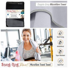 Snug-Rug Microfibre Towel (X-Large) (Dapple Grey)