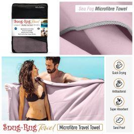 Snug-Rug Microfibre Towel (X-Large) (Sea Fog Mauve)