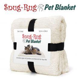 Snug-Rug Pet Blanket 127 x 178cm (Large) Cream