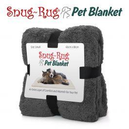 Snug-Rug Pet Blanket 88 x 60cm (Small) Slate Grey